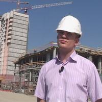 Дмитрий Емельянов, помощник руководителя стройки по ул. Фучика