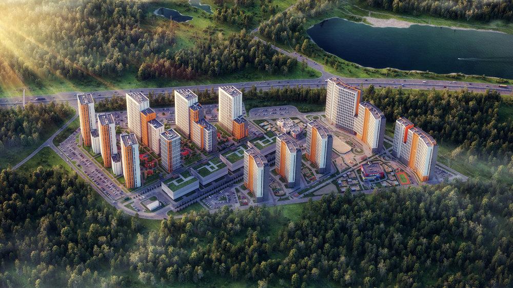 Экопроект Светлый - Екатеринбург, Уктус, Микрорайон Светлый - фото 1