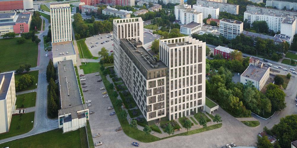 Смарт-проект Геометрия - Екатеринбург, Парковый, ул. Тверитина - Инструментальщиков - фото 1