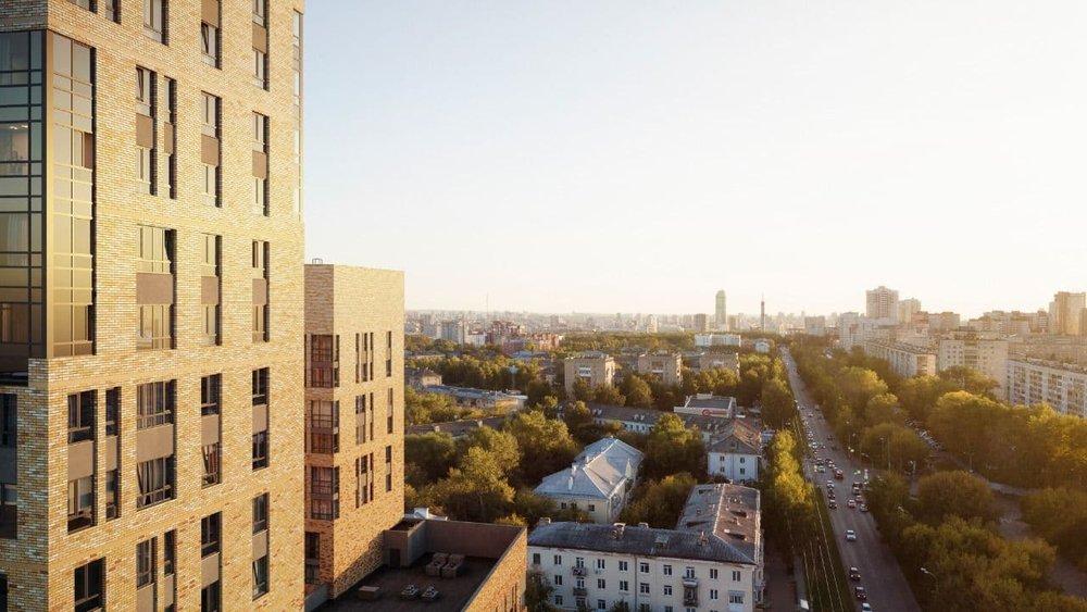 Теплые кварталы - Екатеринбург, Втузгородок, квартал улиц Блюхера - Студенческая - фото 6