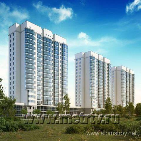 Комплекс апартаментов по ул. Стачек - Екатеринбург, Эльмаш, ул. Стачек, 4 - фото 3