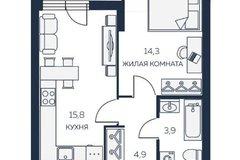 Екатеринбург, ул. 8 Марта, 204/1 (Ботанический) - фото квартиры