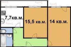 Екатеринбург, ул. Летчиков, 10/а (Завокзальный) - фото квартиры