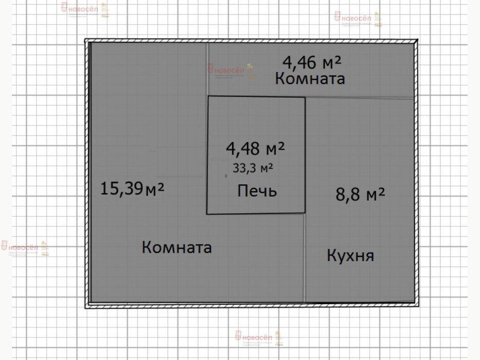 п. Бисерть, ул. Новоселов, 11 (Нижнесергинский район) - фото дома (1)
