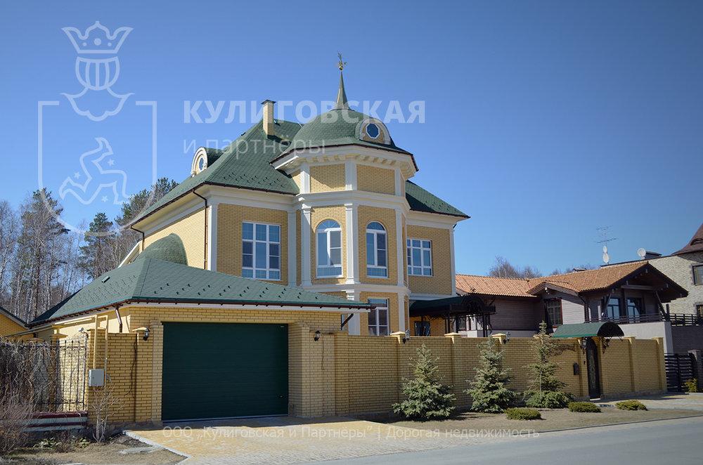 к.п. Палникс, ул. Дарьинская, 10 (Верх-Исетский район) - фото коттеджа (1)