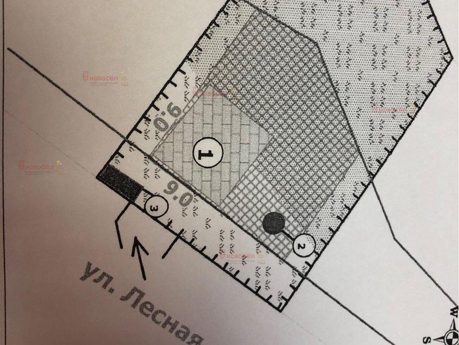 с. Черноусово, ул. Лесная, 20 (городской округ Белоярский) - фото земельного участка (1)