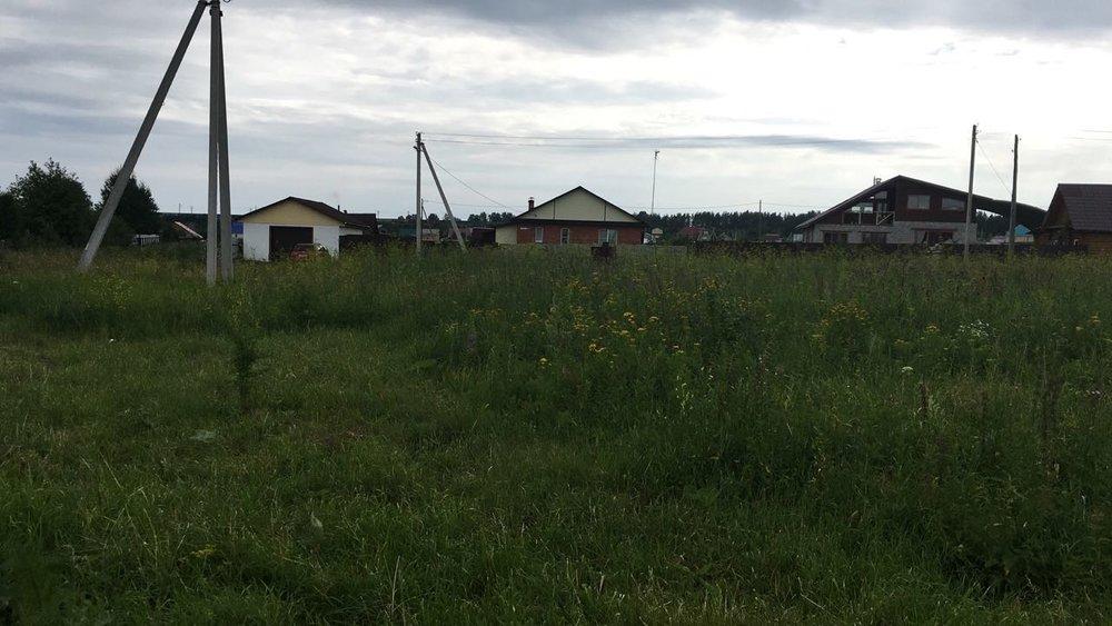 с. Большебрусянское, ул. Красивая, 44 (городской округ Белоярский) - фото земельного участка (1)