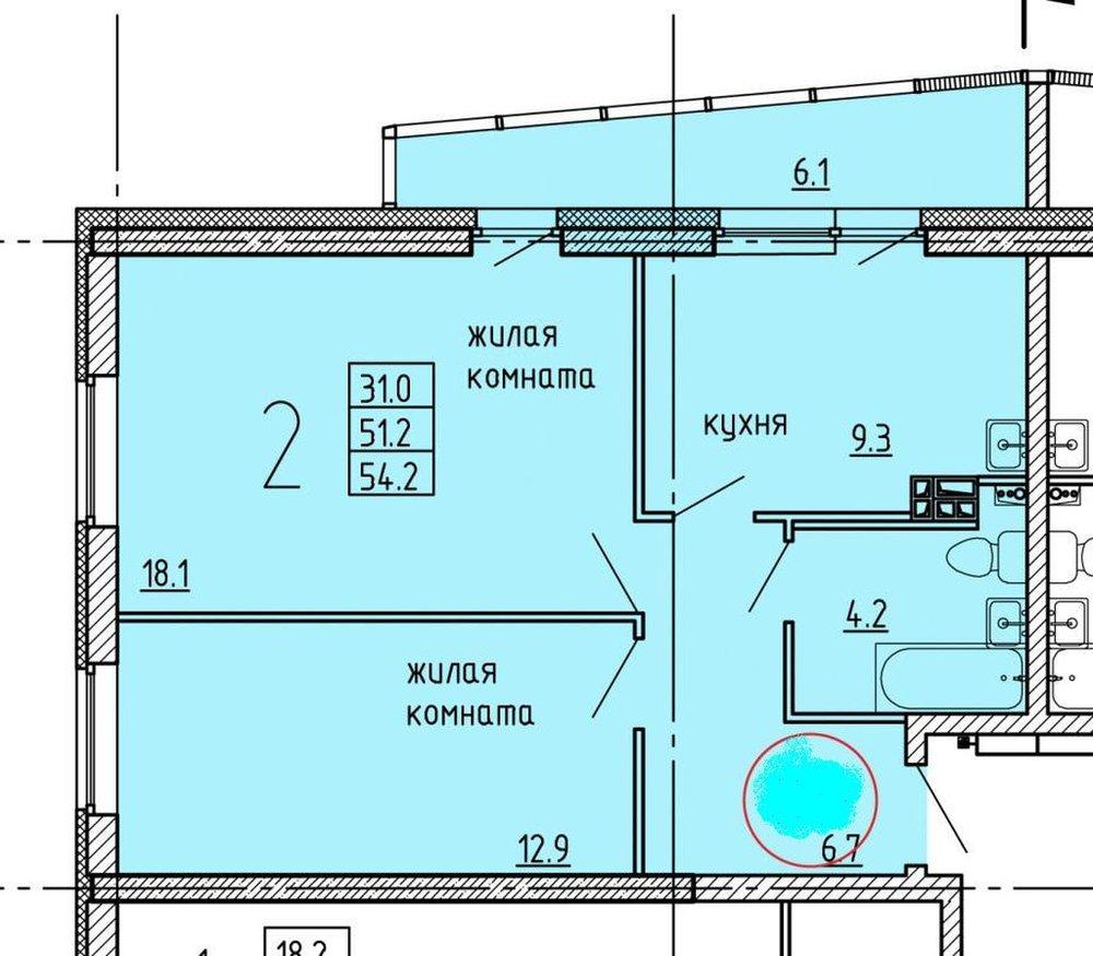 Екатеринбург, ул. Зои Космодемьянской, 46Б (Химмаш) - фото квартиры (1)