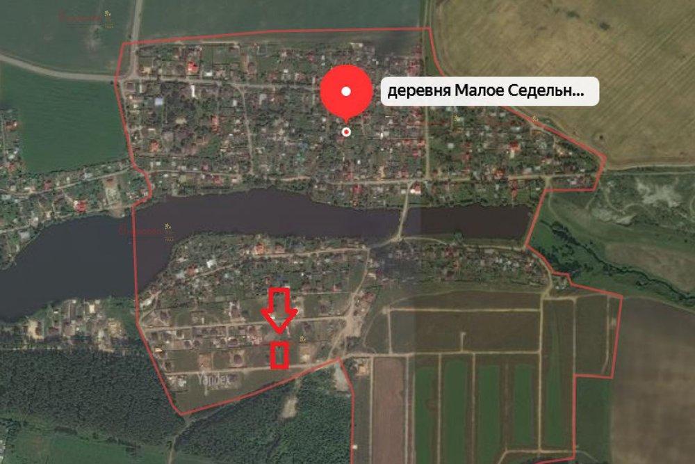 д. Малое Седельниково, ул. Крымская, 30 (городской округ Сысертский) - фото земельного участка (1)