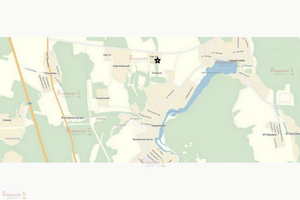 с. Кадниково, ул. Полесье 2 (городской округ Сысертский) - фото земельного участка (1)