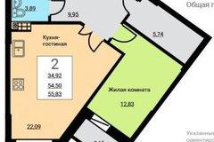 Екатеринбург, ул. Старых Большевиков, 3Г - фото квартиры