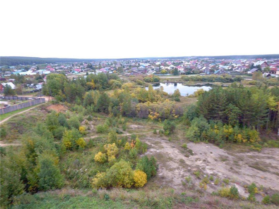 с. Кашино, ул. Набережная, 1 (городской округ Сысертский) - фото земельного участка (1)