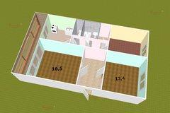 поселок городского типа Белоярский, ул. Юбилейная, 35 (городской округ Белоярский) - фото комнаты