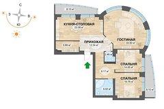 Екатеринбург, ул. Машинная - Шмидта (Автовокзал) - фото квартиры