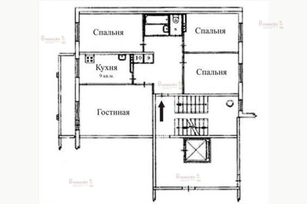 Екатеринбург, ул. 40-летия Комсомола 31 (ЖБИ) - фото квартиры (1)