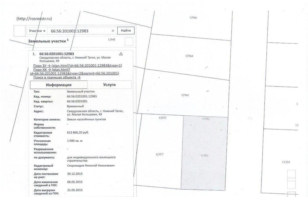 г. Нижний Тагил, ул. Ольховская (городской округ Город Нижний Тагил) - фото земельного участка (1)