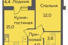 Екатеринбург, ул. б-р. Золотистый, 4 (Солнечный) - фото квартиры