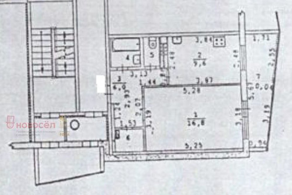 Екатеринбург, ул. Билимбаевская 25/2 (Старая Сортировка) - фото квартиры (1)