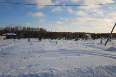 п. Монетный, ул. Олимпийская, 18 (городской округ Березовский) - фото земельного участка