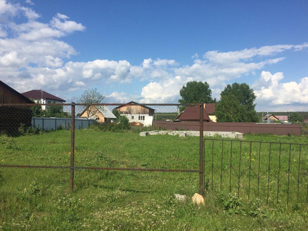 п. Бобровский, ул. Речкалова (городской округ Сысертский) - фото земельного участка (1)