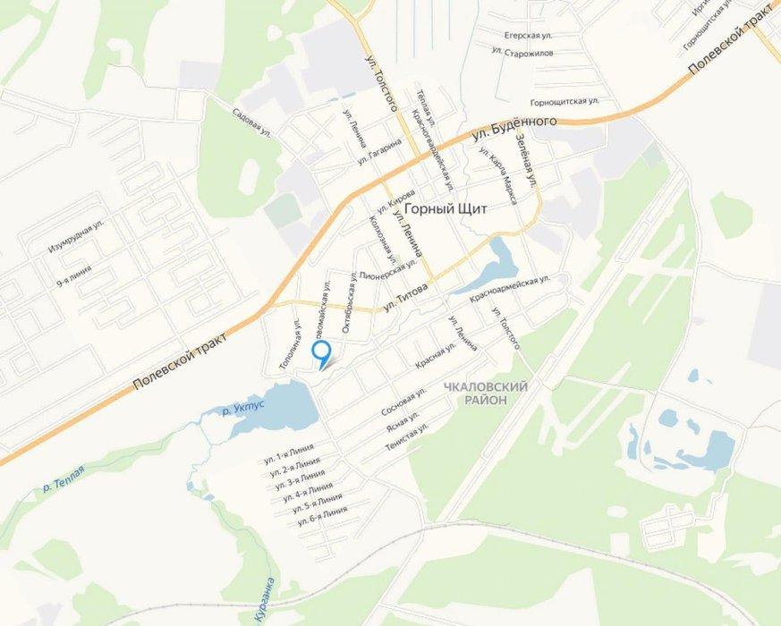 Екатеринбург, ул. Партизанская, 8 (Горный щит) - фото земельного участка (1)