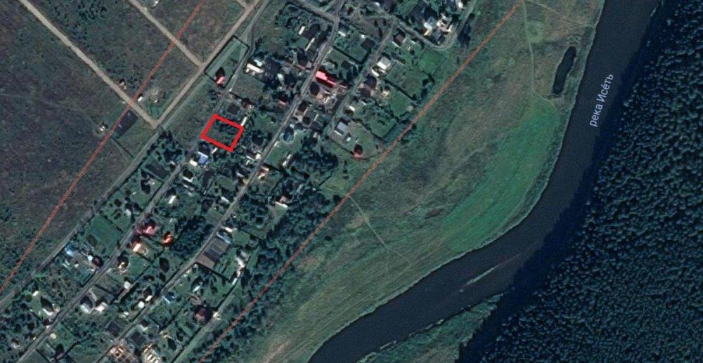 п. Колюткино, ул. Полевая, 11 (городской округ Белоярский) - фото земельного участка (1)