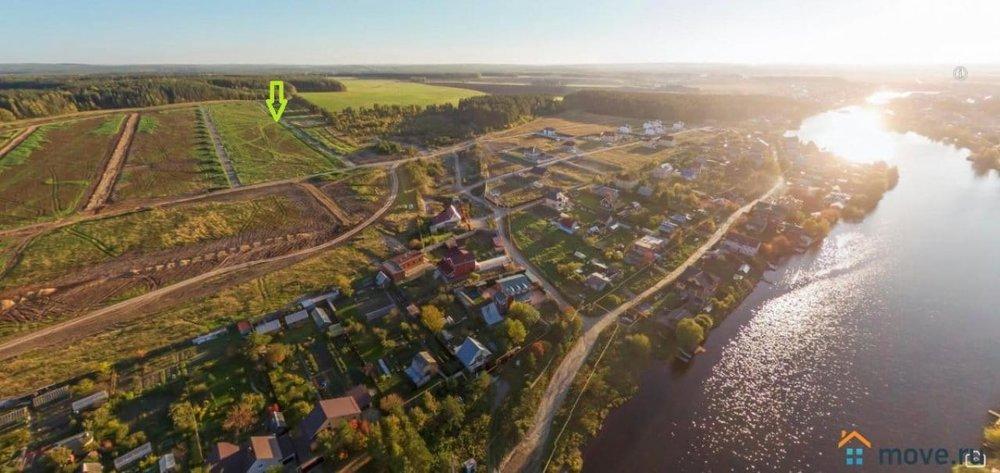 д. Малое Седельниково, ул. Одесская, 1 (городской округ Сысертский) - фото земельного участка (1)