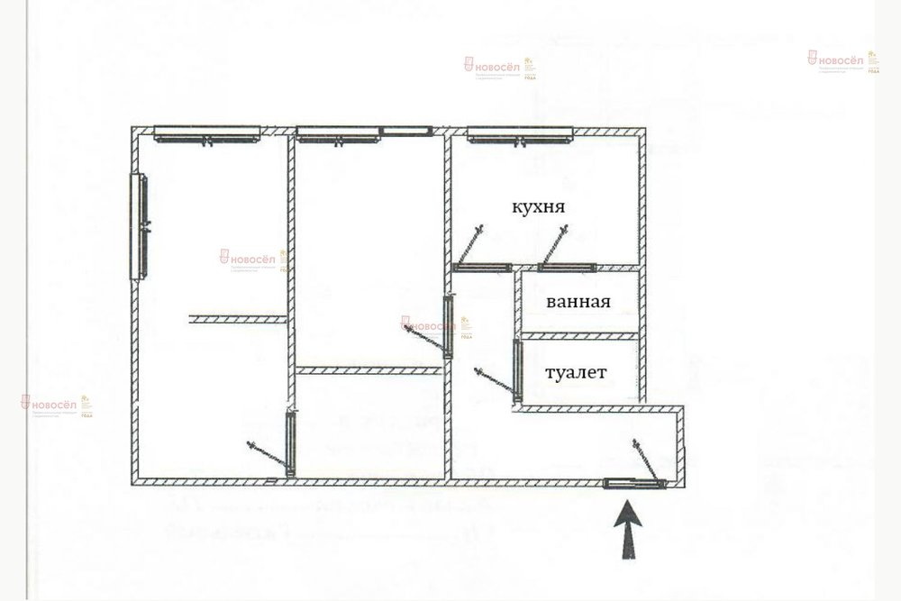 Екатеринбург, ул. Донбасская 14 (Уралмаш) - фото квартиры (1)