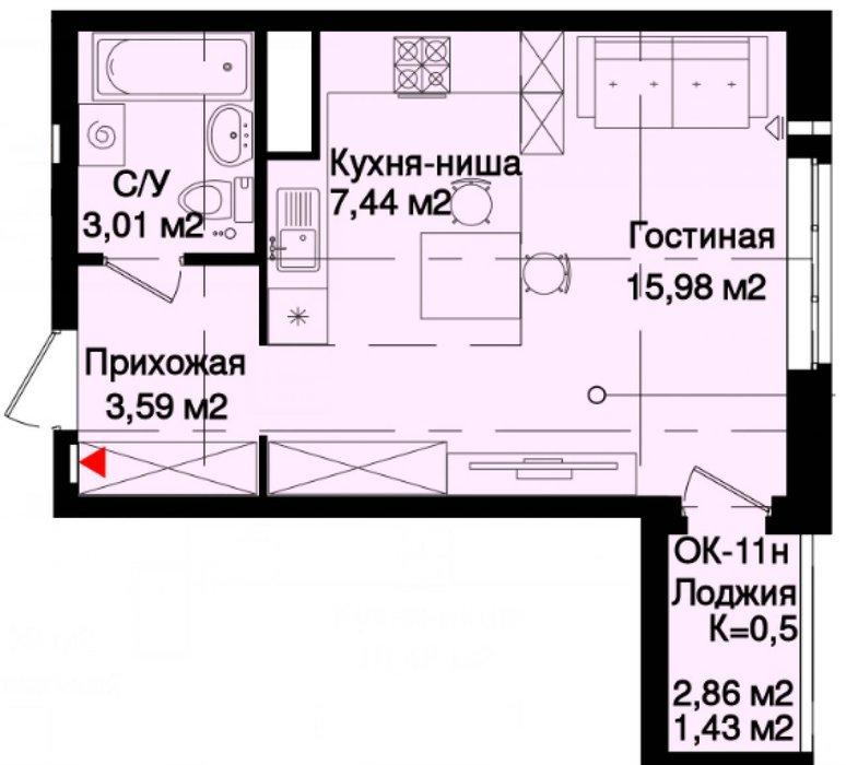 Екатеринбург, ул. Таватуйская, 25 (Старая Сортировка) - фото квартиры (1)