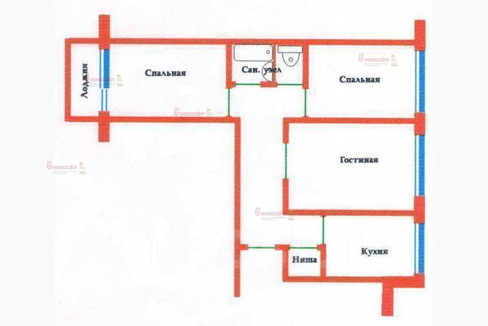 Екатеринбург, ул. Инженерная 43 (Химмаш) - фото квартиры (1)