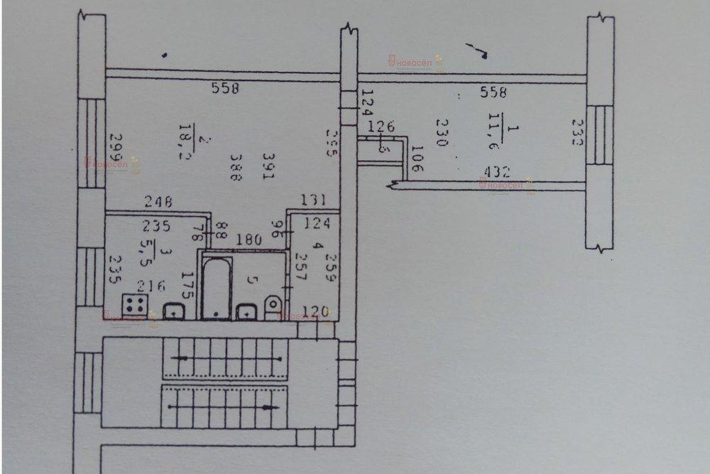 Екатеринбург, ул. Куйбышева, 110 (Шарташский рынок) - фото квартиры (1)