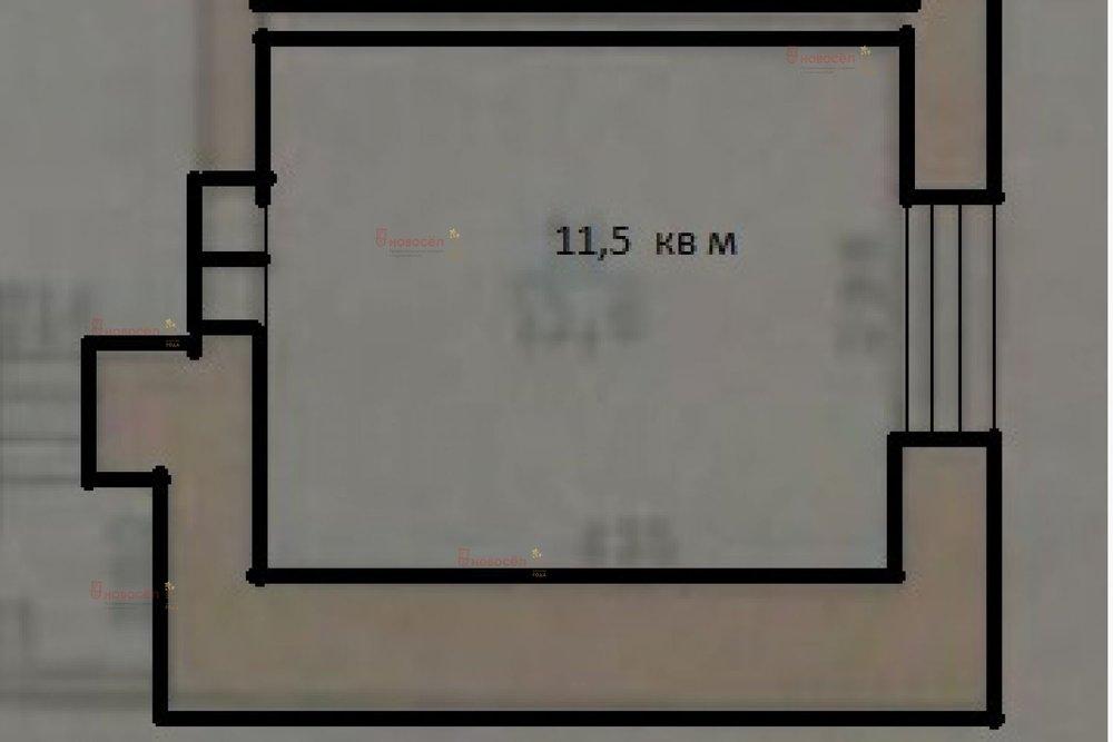 Екатеринбург, ул. Крылова, 24/б (ВИЗ) - фото комнаты (1)