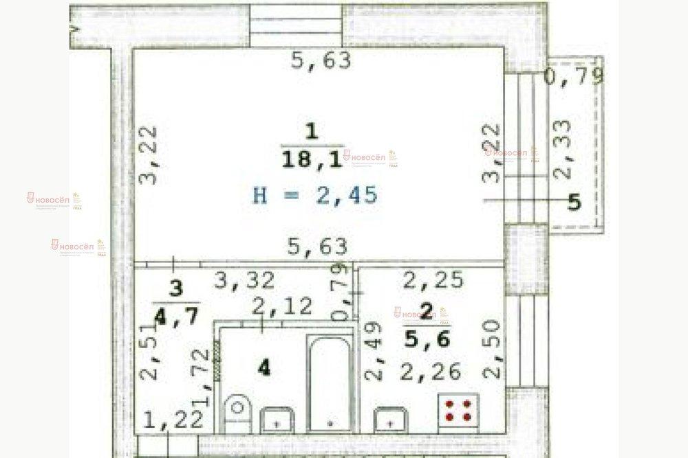 Екатеринбург, ул. Минометчиков, 34 (Старая Сортировка) - фото квартиры (1)