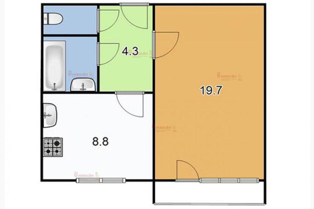 Екатеринбург, ул. Таватуйская, 2 (Новая Сортировка) - фото квартиры (1)