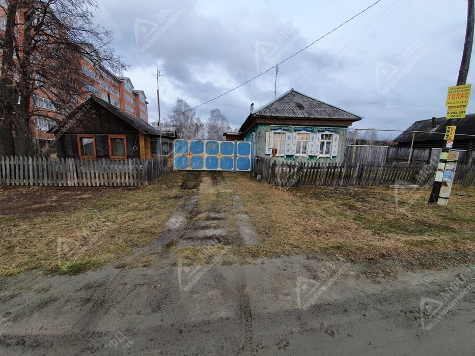 п. Монетный, ул. Лермонтова, 23 (городской округ Березовский) - фото дома (1)