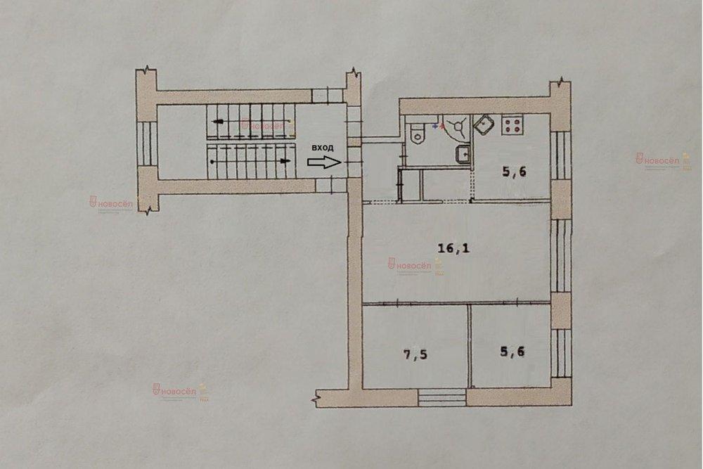 Екатеринбург, ул. Комвузовская, 11 (Втузгородок) - фото квартиры (1)