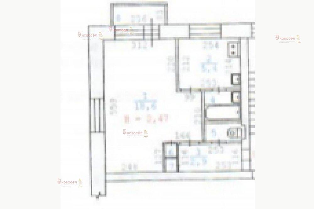 Екатеринбург, ул. Космонавтов, 27 (Уралмаш) - фото квартиры (1)