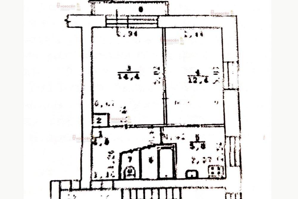 Екатеринбург, ул. Белоярская, 27 (Компрессорный) - фото квартиры (1)