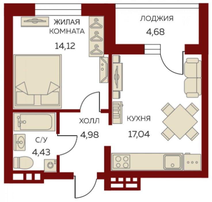Екатеринбург, ул. Азина, 41 (Центр) - фото квартиры (1)