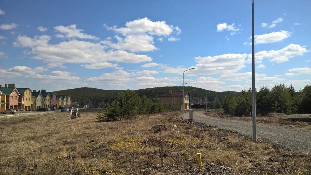 к.п. Николин ключ, ул. Изумрудный, 7 (городской округ Сысертский, с. Кашино) - фото земельного участка (1)