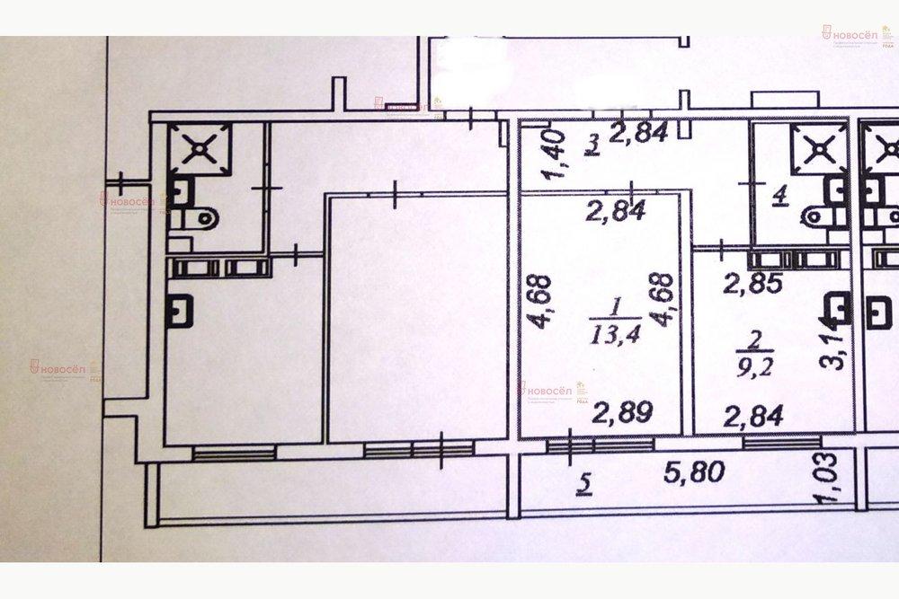 Екатеринбург, ул. Латвийская, 54 (Компрессорный) - фото квартиры (1)
