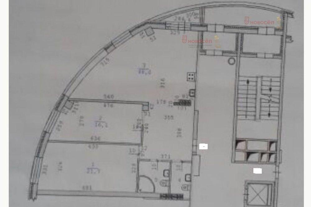 Екатеринбург, ул. Никонова, 8 (Центр) - фото квартиры (1)