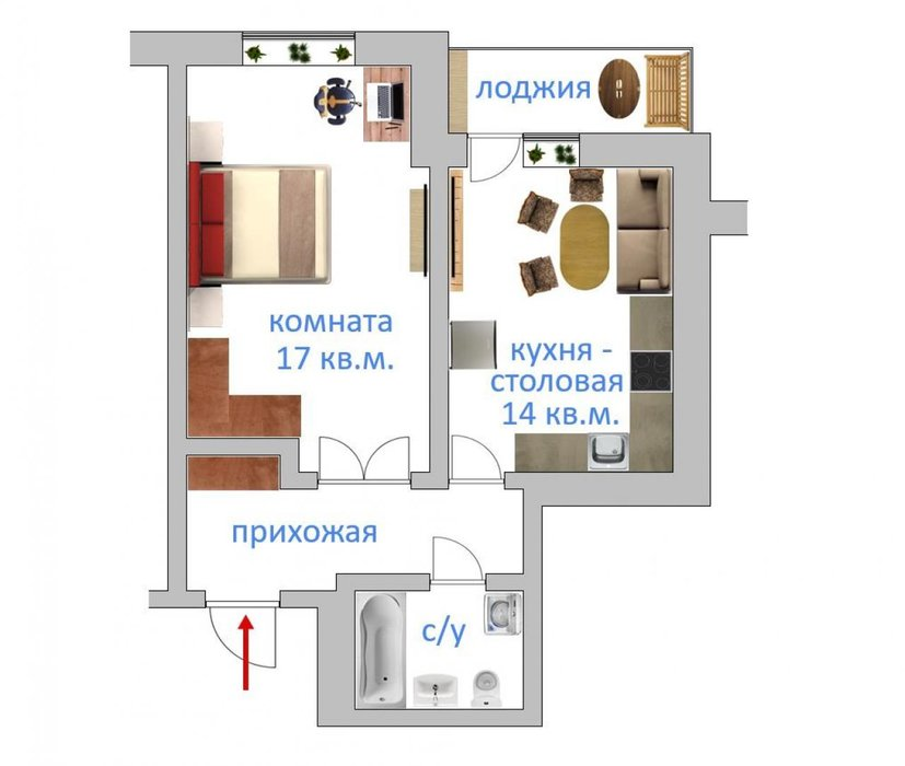 Екатеринбург, ул. Краснолесья, 145 (Академический) - фото квартиры (1)