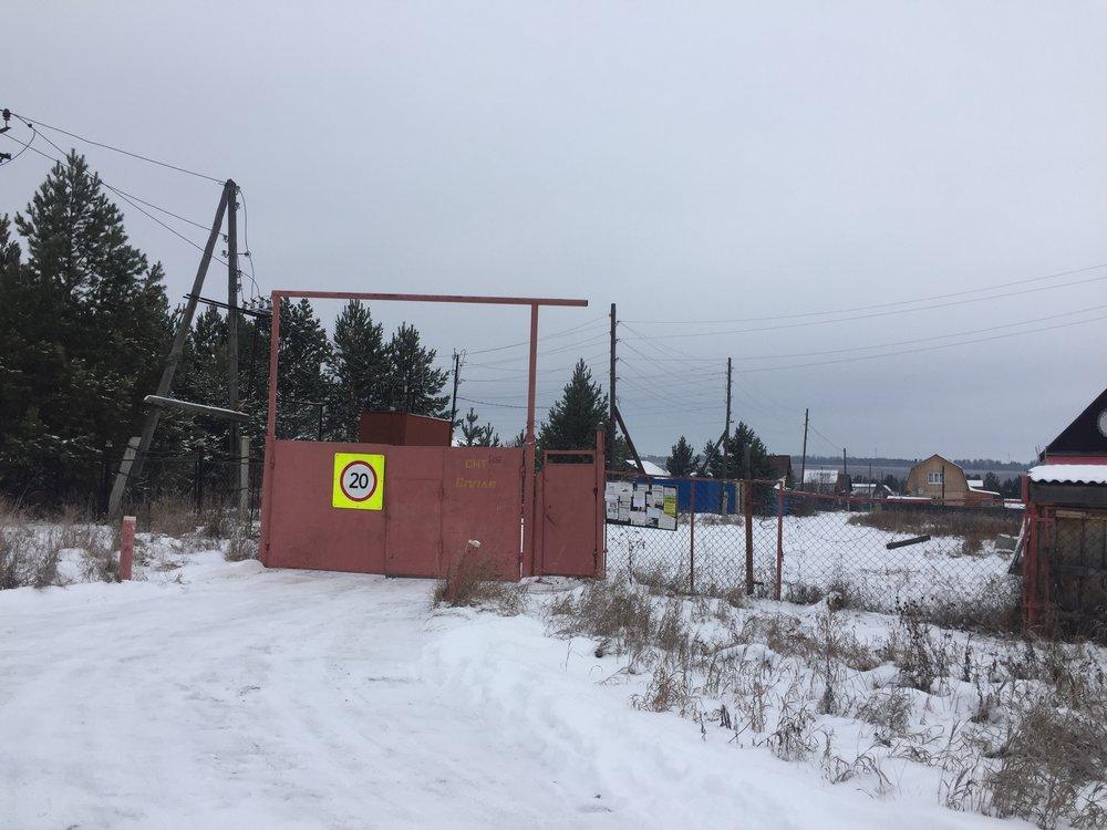 д. Шиши, СНТ Сплав (городской округ Белоярский) - фото сада (1)
