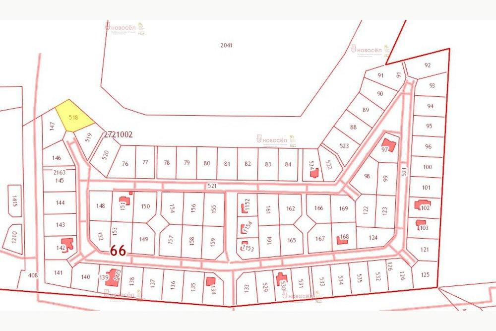 к.п. Заповедник, ул. Парк Филино, 15 (городской округ Сысертский, с. Кашино) - фото земельного участка (1)