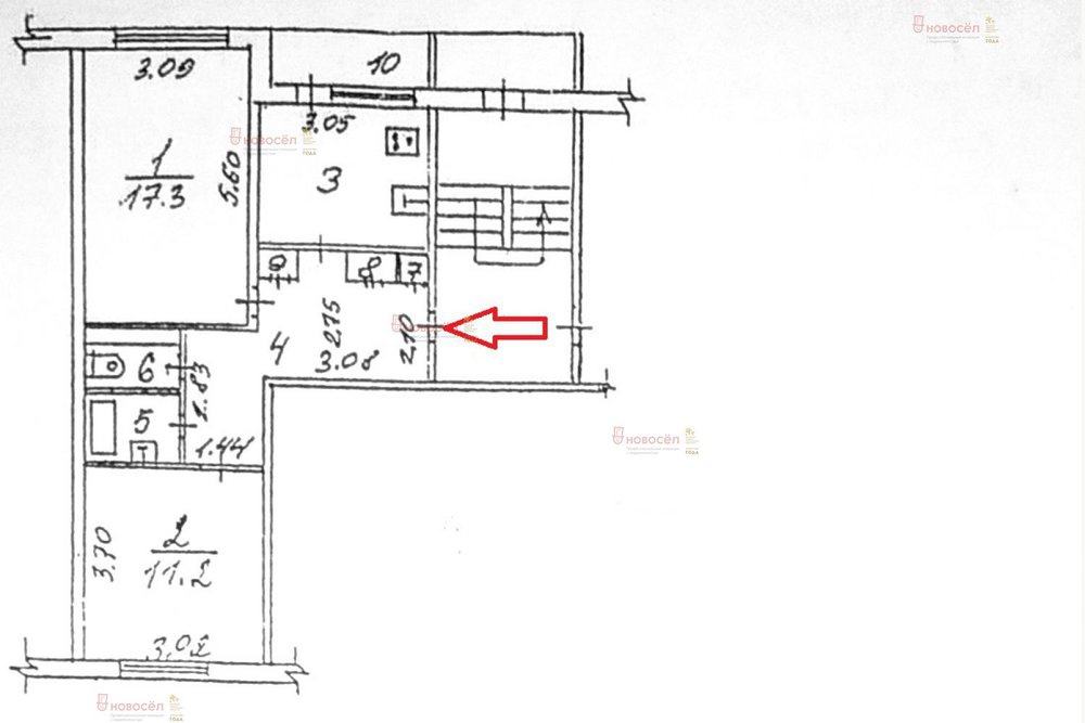 г. Среднеуральск, ул. Бахтеева, 8 (городской округ Среднеуральск) - фото квартиры (1)
