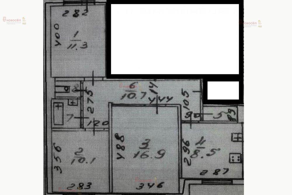 Екатеринбург, ул. Ангарская, 26 (Старая Сортировка) - фото квартиры (1)