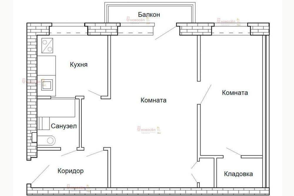 Екатеринбург, ул. Сухумский, 4 (Вторчермет) - фото квартиры (1)