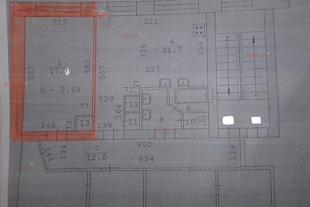 Екатеринбург, ул. Данилы Зверева, 12 (Пионерский) - фото комнаты (1)