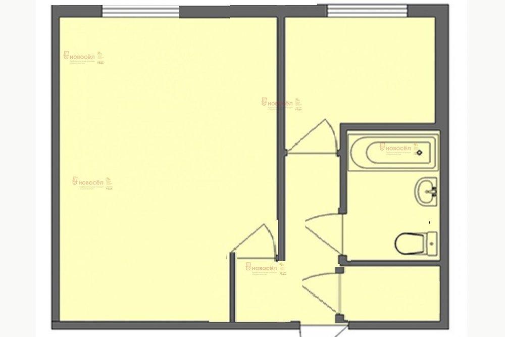 Екатеринбург, ул. Авиационная, 63/2 (Автовокзал) - фото квартиры (1)